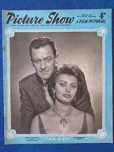 Picture Show Magazine - 2/8/1958 - Sophia Loren & William Holden Cover