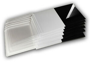 95 x 40 cm Acryl-Zuschnitt//Plexiglas-Platte schwarz 3mm XT