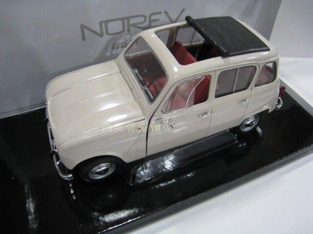 1 18 NOREV Renault 4L Congreenible Die Cast Model