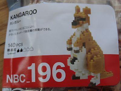 Kawada Nanoblock Mini KANGAROO japan building toy block NBC/_196 Worldwide