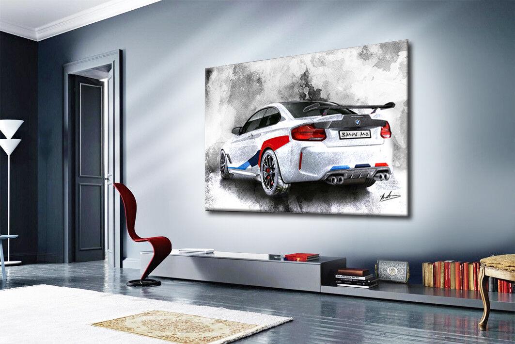 BMW m2 auto voiture de sport sport sport Moteur Sport Images sur toile peintures murales 1879 A | Paris  a955c3