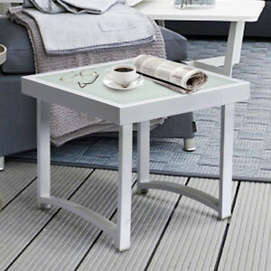 Image Is Loading Modern Square End Table For Living Room White