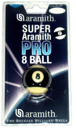SUPER ARAMITH PRO 2 (50.8mm) BLACK STRIPED 8 BALL