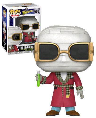 Funko-POP-Movies-Universal-Monsters-608-The-Invisible-Man-New-Mint