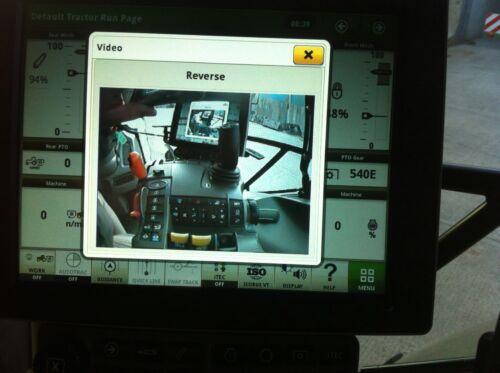 John Deere 6R Tractor De Cable Adaptador de Cámara de pantalla 4600 2