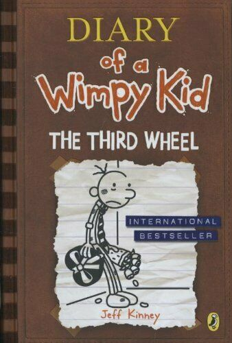 Diary of a Wimpy Kid: The Third Wheel (Book 7) (Diary of a Wimpy Kid 7) by Kinne