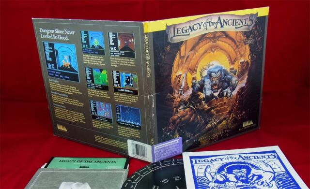 C64: Legacy of the Ancients - Electronic Arts 1987  mit OVP