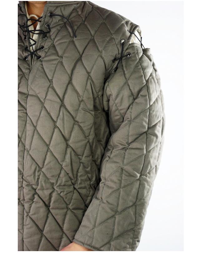 Mittelaltergambeson Gambeson mit mit mit abnehmbaren Ärmeln     | Mittel Preis  | Fuxin  | Züchtungen Eingeführt Werden Eine Nach Der Anderen  | Moderne Technologie  | Ausgezeichnetes Handwerk  7abb3d