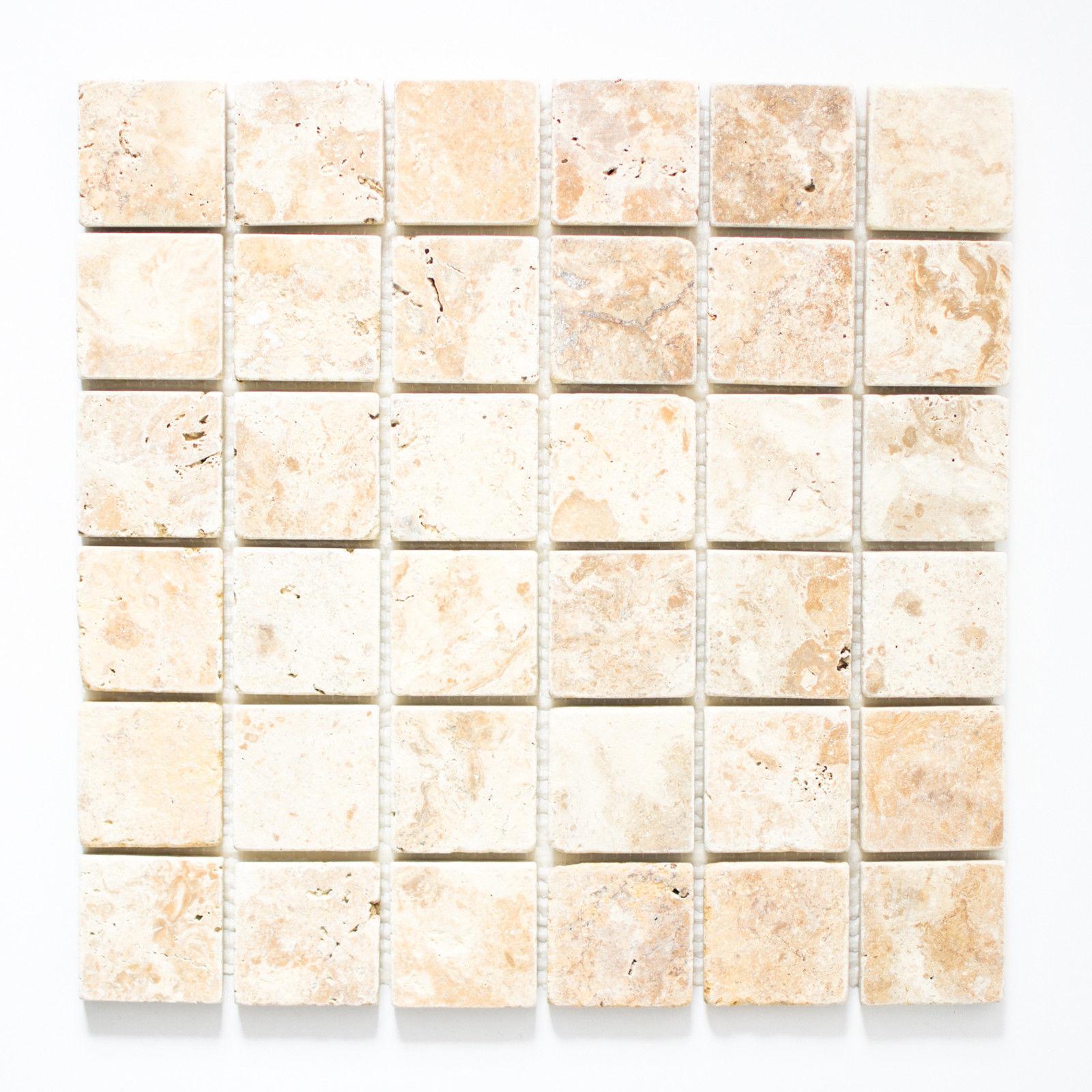 Mosaik Gold antique Travertine Fliesenspiegel Küche Art: 43-51048 | | | 10 Matten 993d0d