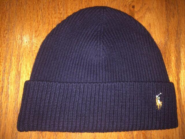 9f4faae0e1808 Polo Ralph Lauren Signature Marino Cuff Hat Hunter Navy 23765096 for ...