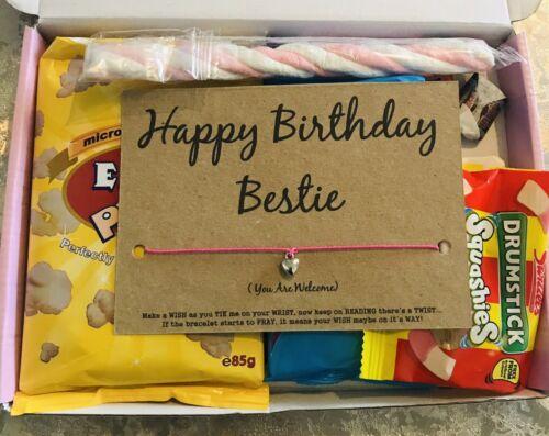 Meilleur Ami CARTE D/'ANNIVERSAIRE Bf Anniversaire Boîte Cadeau Doux Boîte Cadeau Pour Ami