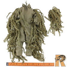 Marine Sniper - Ghillie Suit Uniform Set - 1/6 Scale - GI JOE Action Figures