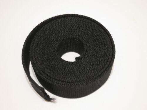 "1.5"" Heavy Duty Polyester Black Nylon Strap//Web//Band 8.5 FEET Webbing"