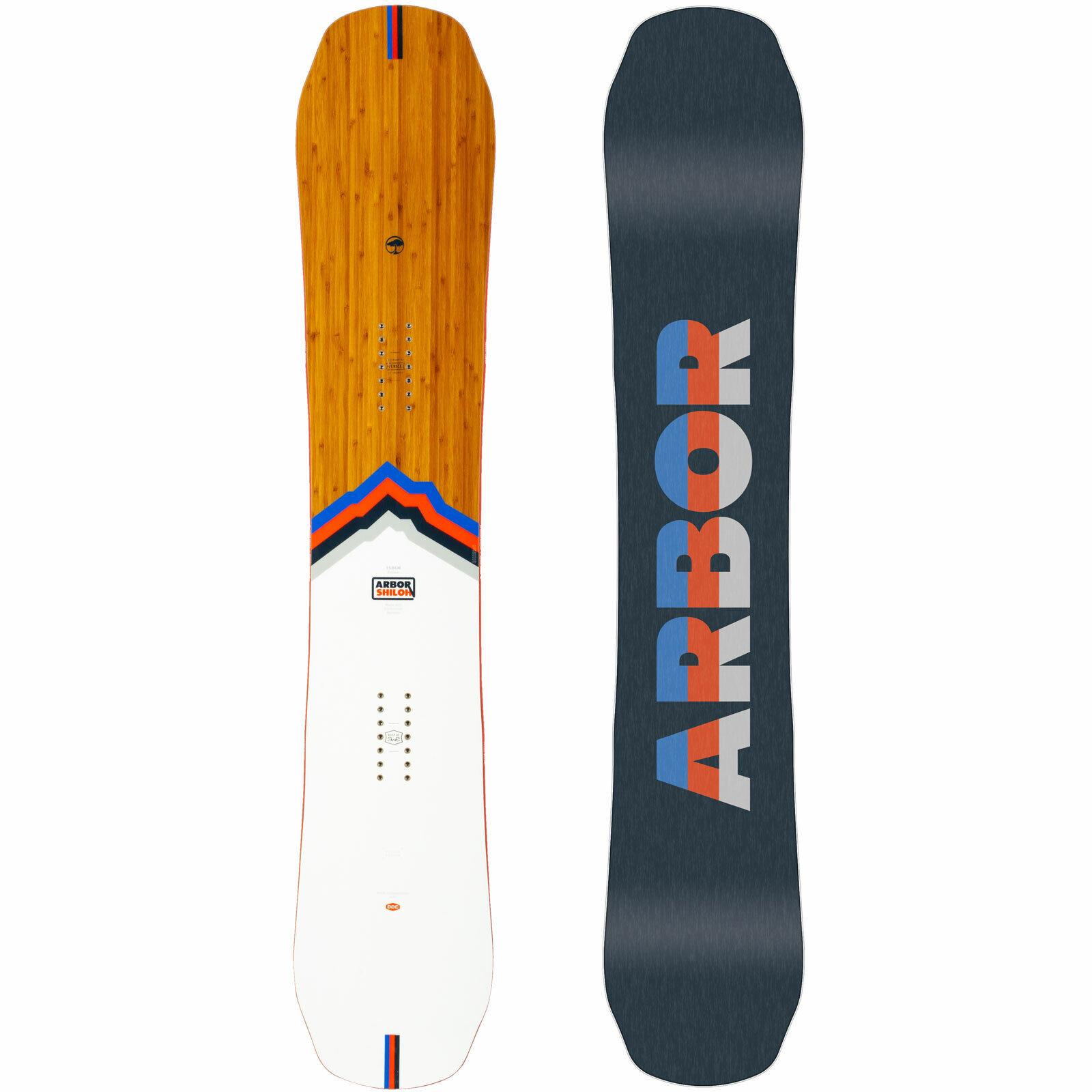 Arbor Shiloh Rocker Herren Snowboard All Mountain Freestyle Twin DDC 2020 NEU