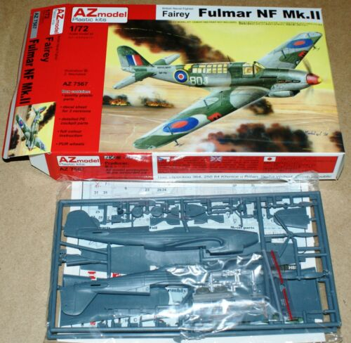 in 1//72 von AZ Model Fairey Fulmar NF Mk.II 3x camo