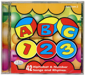 ABC-123-CD-Alphabet-amp-number-songs-and-rhymes-NEW-amp-WRAPPED-FROM-PUBLISHER