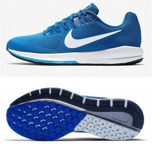 Men's Nike Air Zoom Structure 21 Size 12 Photo bluee 904695-403 FREE SHIPPING