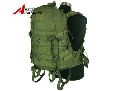 45L Molle Tactical Military Combat Backpack Camping Hunting Assault Rucksack Bag