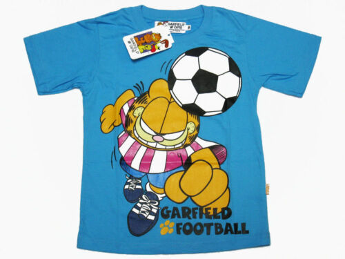 Garfield Boy Cotton T-Shirt #101-70 Size 6-12 age 3-10