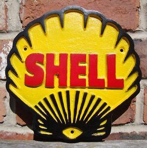 Shell sign Shell Heavy gauge cast sign aluminium shell advertising VAC007
