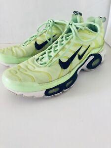 Contaminar bordado Prominente  Nike Air Max Plus Overbranding Lime Blast Size 9.5   eBay