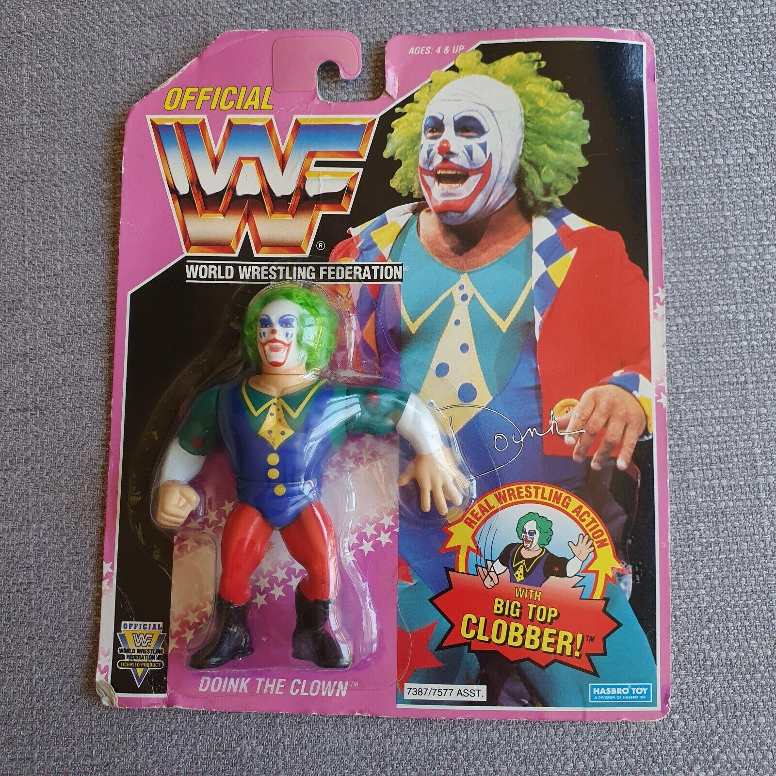 WWF Doink el Payaso serie 9 HASBRO Moc 1993 acción figura WWE -
