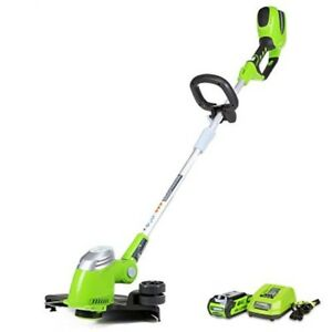 Battery Operated Weed Eater >> Details About Battery Operated Grass Trimmer Charger Weed Wacker Part Zip User Friendly Cut