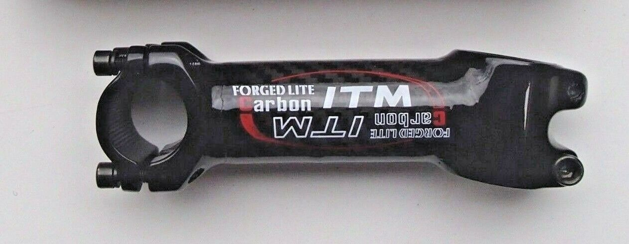 ITM FORGED LITE CARBON A-HEAD HANDLE BAR STEM 110mm LONG RARE