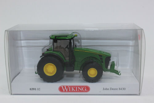 Wiking 039102 John Deere 8430 Traktor 1:87 Neu in OVP