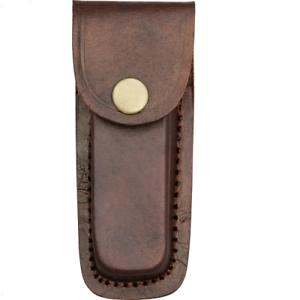 PA33234 Brown Leather Folding Knife/Multi-To<wbr/>ol Belt Sheath