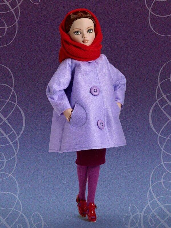 Beautiful Felt Cold outfit for Ellowyne 1000 Wilde NRFB Tonner LE 1000 Ellowyne e87732