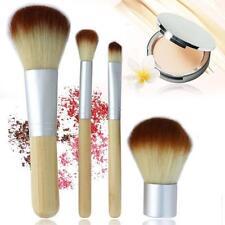 Eco Tools BAMBOO Makeup Brush Set 4 Pcs Make Up Brushes Tools Eyebrow Brushes G3