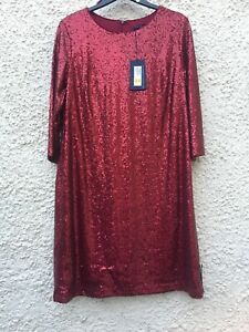BNWT M/&S blue striped dress size 12 RRP £45.00