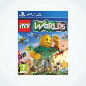 LEGO-WORLDS-sur-PS4-Neuf-Sous-Blister-Version-FR