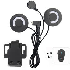 Headset Noice Cancelling Headphone+Clip for FDC BT Motorcycle Bluetooth Intercom