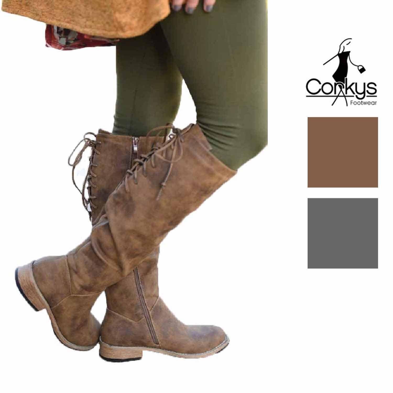 Corkys Femme Ventura effet vieilli bottes hautes