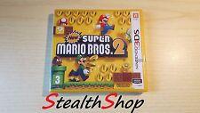 3DS New Super Mario Bros 2 - Brand New Sealed - Nintendo 3DS PAL Multilanguage