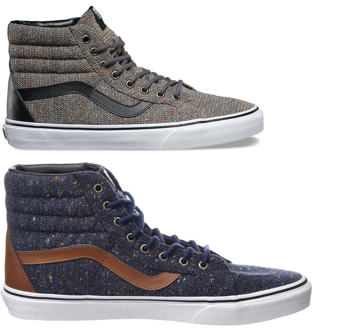 shoes VANS SK8-HI Reissue Reissue Reissue LAINE & homme cuir BASKETS AUTHENTIQUE 903e7d