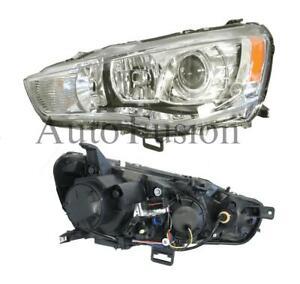Headlight-Left-Side-For-Mitsubishi-Outlander-Zh-2009-2012