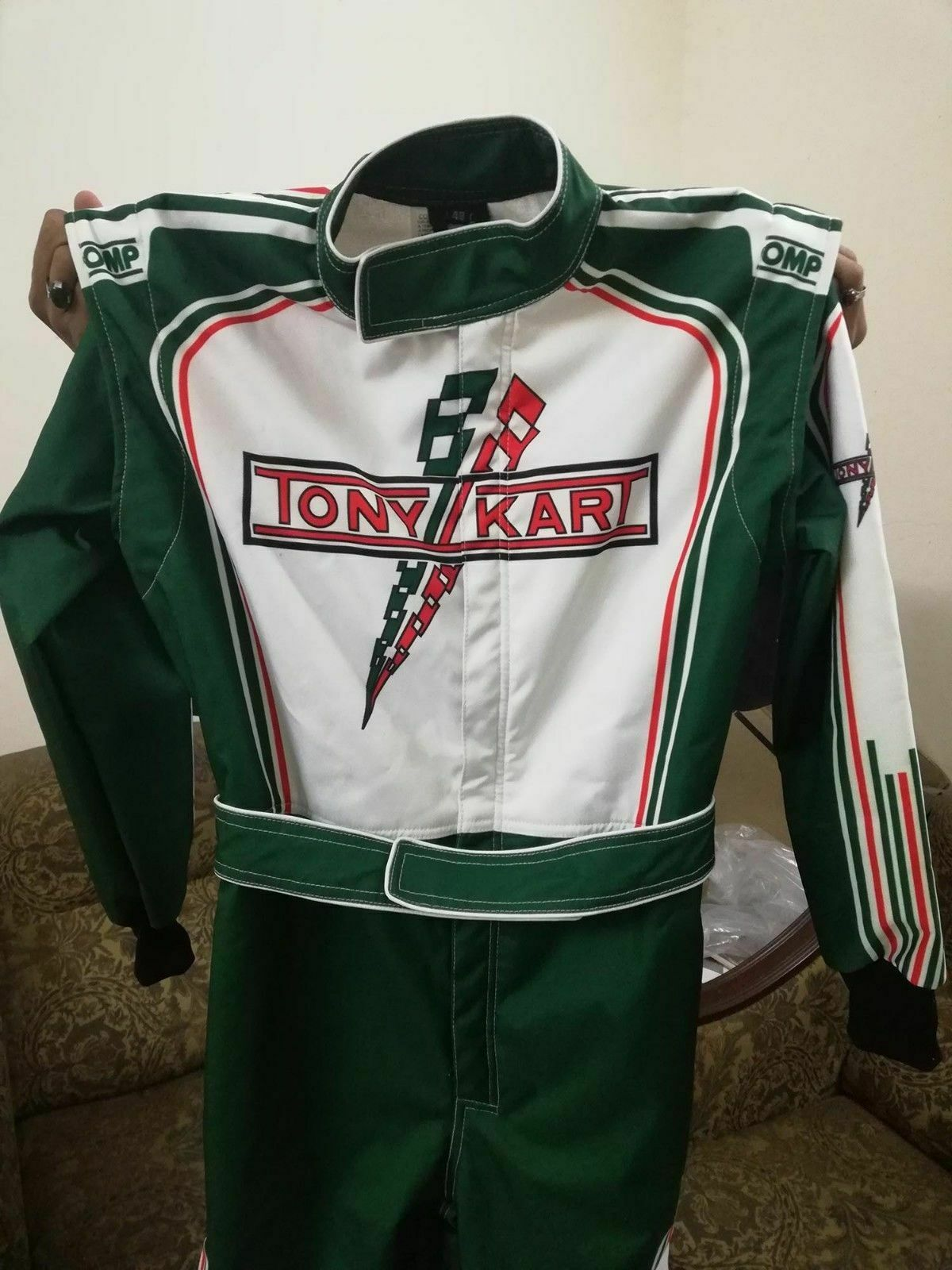 Tony Kart Sublimation print Go Kart Race Suit CIK FIA Level 2 Karting Suit