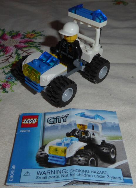Lego City 30013 Police Buggy//Quad Bike//Car Brand New Sealed in Bag