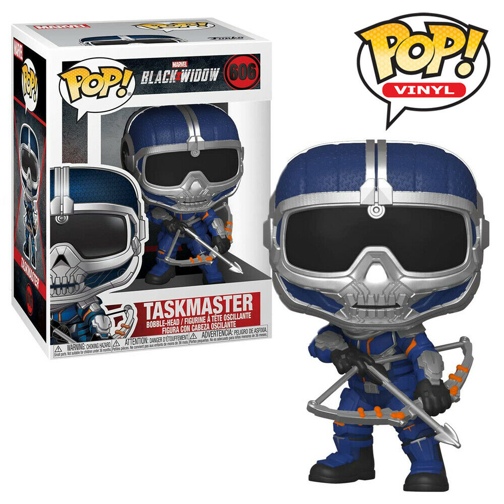 Taskmaster with Bow Black Widow Official Marvel Funko Pop Vinyl Figure