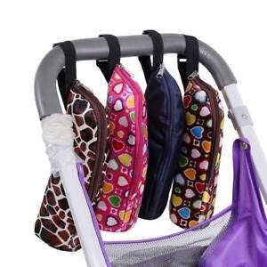 Infant Portable Plush Pouch Cover Thermal Feeding Bag Insulated Baby Milk Bottle Tote Tool Keep Warm Holder for Kids Children Milk Bottle Warmer Bag