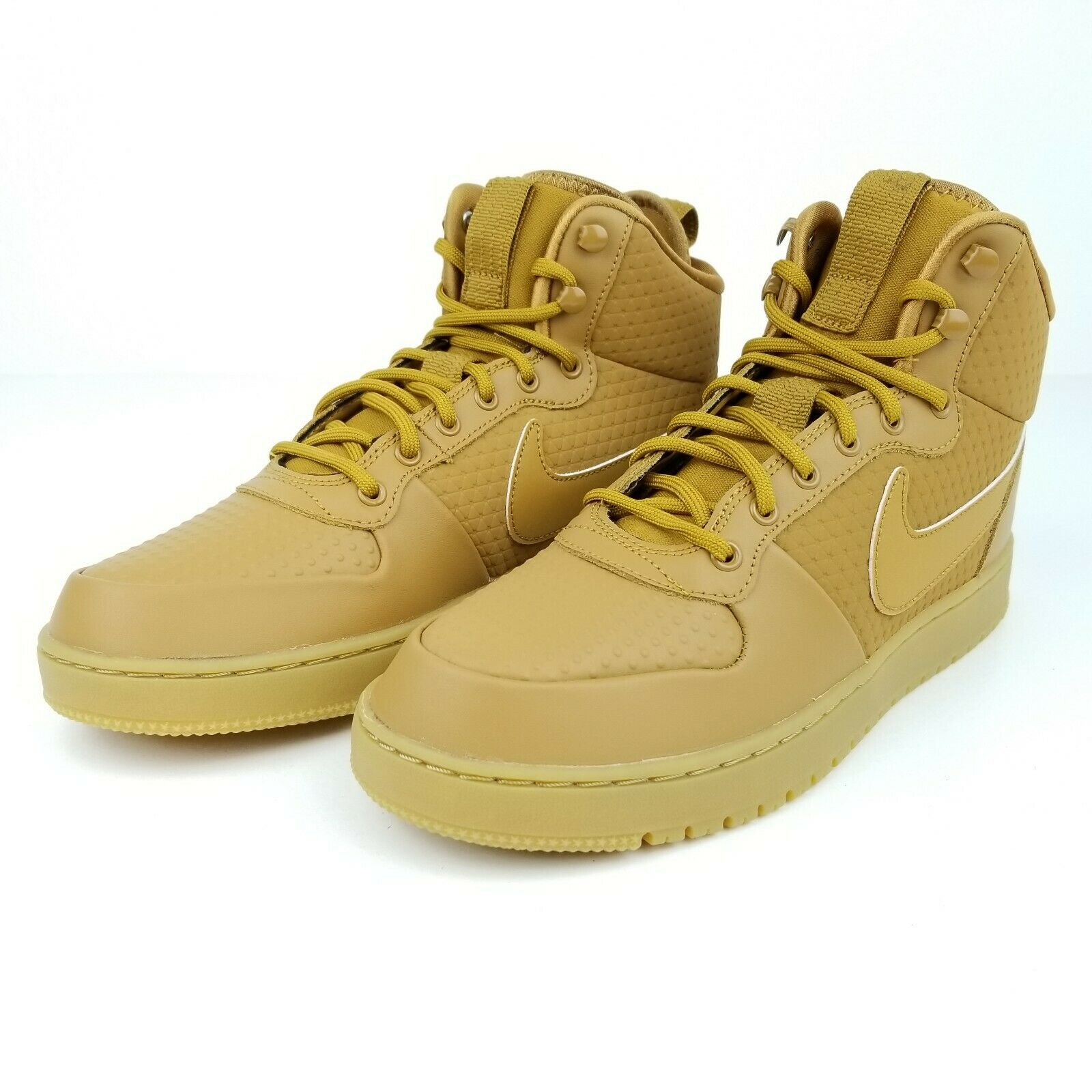 Nike Court Bgoldugh Mid Winter Wheat Tan AA0547 700 Mens Sneakerboot shoes Size