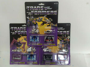 Transformers G1 Reissue Cassette Decepticon RAVAGE RUMBLE Action Figure Gift Toy