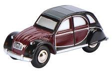 01514 Schuco Piccolo 1:90 Citroën 2 CV Charleston schwarz-bordeaux