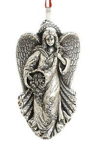 Barton sterling silver 11th annual angel gloria xmas ornament pendant