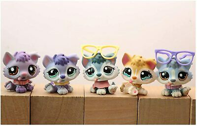 Pet shop LPS Collie 893 363 58 Raise paw Husky 1018 Dachshund 909 Short hair cat
