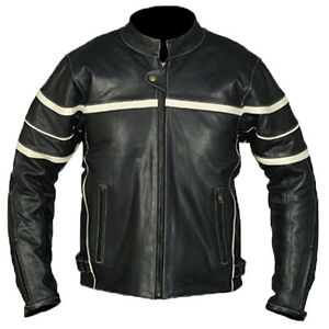 Veste-en-cuir-blouson-moto-motard-neuf-HOMMES