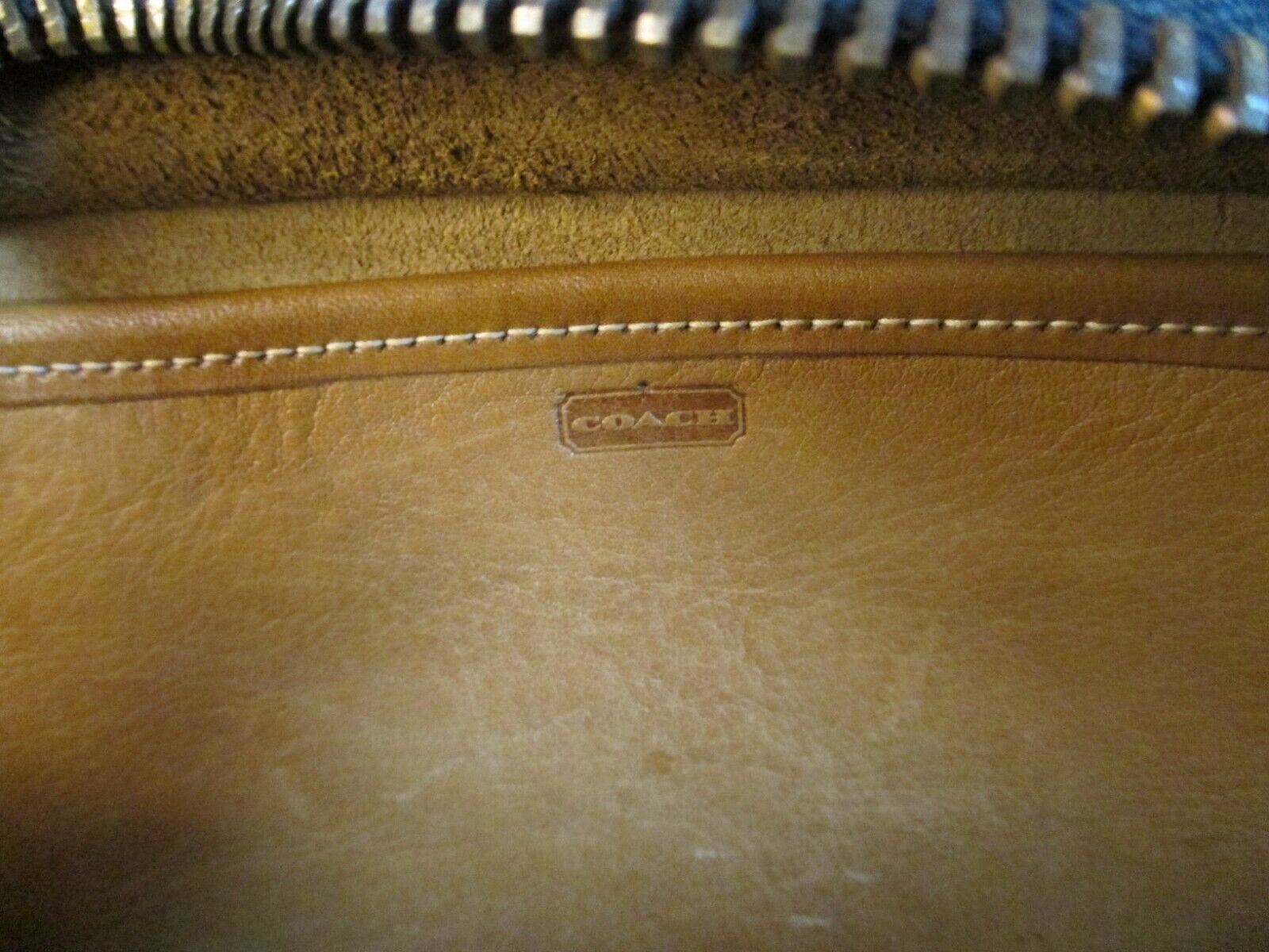Vintage COACH/Bonnie Cashin Pre-Creed Original La… - image 11